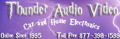 Thunder Audio Video 877-390-1599 InfiniteElectronix.com