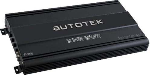 AutoTek AT2000.1 SuperSport AT 1 x 2000 Watts at 1 Ohm Mono Subwoofer Amplifier
