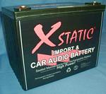 Batcap Model X3000 3000 Cranking amp 80 Ah High Capacity SPL DB Drag Battery