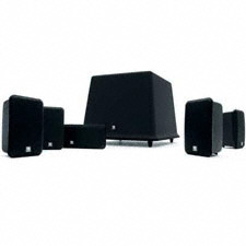 Boston Acoustics MCS-100MDNT 5.1 CHANNEL Surround Sound Speaker System 8 Inch SUB