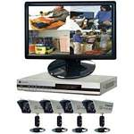 Clover BUN2472 DVR Bundle with 19 Inch Widescreen LCD, DVR & 4 Cameras