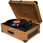 CROSLEY RADIO CR249-TA KEEPSAKE USB TURNTABLE (TAN)