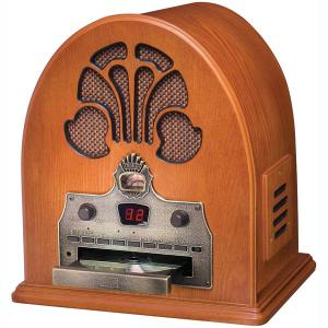 Buy Crosley Audio Systems - CROSLEY RADIO CR32CD AM/FM Woodgrain Cathedral Radio with CD Player