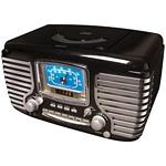 CROSLEY RADIO CR612-BK Corsair Alarm Clock/Radio