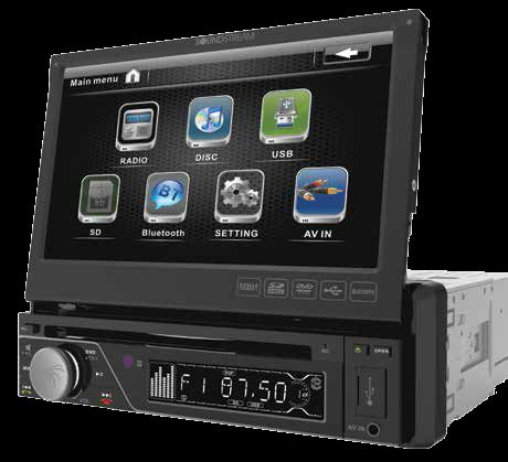 Soundstream single din touch screen