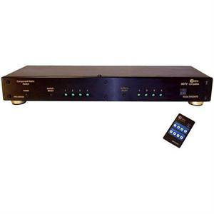 CE LABS SW204HD 4X2 4 Input 2 Output HD Component Video and Digital / Analog Audio Matrix Switch