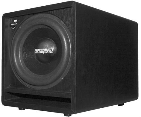 Earthquake FF-10 10 400 Watt Front-Firing Powered Home Theater Subwoofer