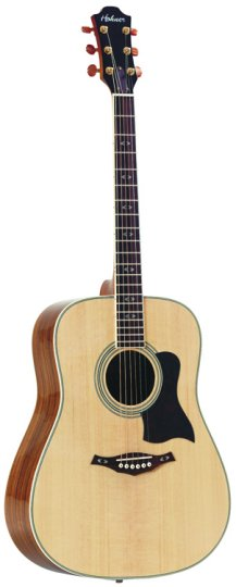 HOHNER HO-HW9012 Ovankol Series 12 String Dreadnaught Acoustic Guitar