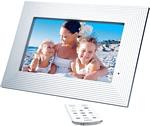 JWin JP119 9 Inch 640 x 220 Digital Photo Frame with MP3, MPEG, JPEG, AVI Support