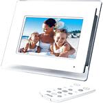 JWin JP147 7 Inch Digital Photo Frame With Built-In MP3 Player
