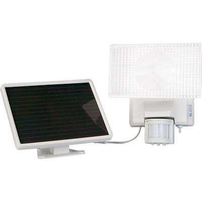Maxsa Solar Powered 30-Watt Halogen Security Floodlight 40110