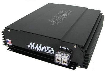 MMats M3000.05D 3000 RMS at .5 Ohm Class D Digital Mono Subwoofer Amplifier MADE IN THE USA