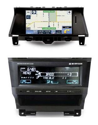 Myron Davis NV8ACC1 2008-2011 Honda Accord / Crosstour 8 Inch Monitor with Navigation,CD/DVD Player,iPod & Sirius ready