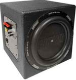 Earthquake MKV12P SuperNova MKV 12 Inch 600 Watt RMS Powered Subwoofer (Poly)