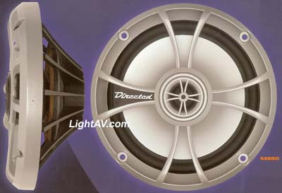 "Directed Audio SX650 6.5"" 50 Watt RMS 2 Way Coaxial Speaker"