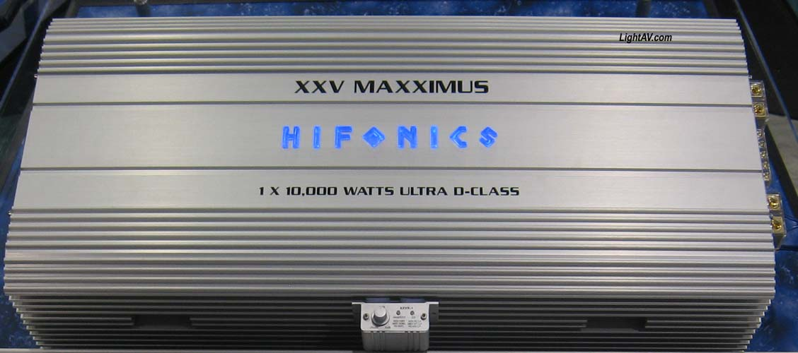 Hifonics XXV Maxximus Generation XXV 1 X 10000 RMS Competition Amplifier