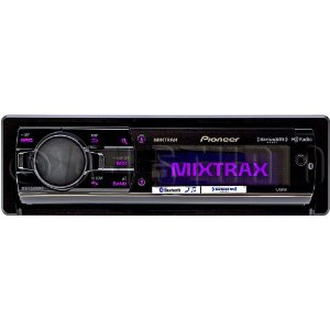 pioneer deh x9500bhs dot lcd cd mp3 hd radio receiver with mixtrax and bluetooth siriusxm