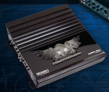 2000 Watt amp 1 ohm stable