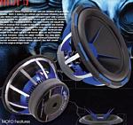 Power Acoustik MOFO-124X 12 Inch MOFO X Cast Frame 2700W Dual 4 Ohm Competition Subwoofer