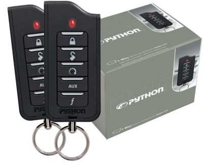 Python 1601 Security    Alarm And Remote Start System With