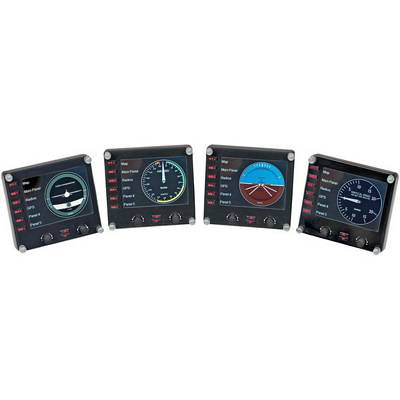 Saitek PZ46 3.5 Inch Color LCD Pro Flight Instrument Panel