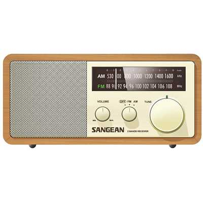 Table Top Radio Sangean wr 11 Amfm Table Top