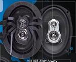 SoundStream PCT.693 Picasso 6 x 9 Inch 3 Way 130 Watt Coaxial Speakers