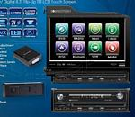 SoundStream VIR-8300NR Single Din 8.3 Inch Touch Screen LCD/DVD Receiver with USB/3.5MM Inputs