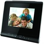 Coby DP356BLK 3.5 Digital Photo Frame with USB / SD