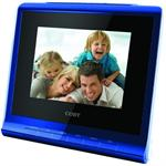 COBY DP356BLU 3.5 Desktop Multifunction Digital Photo Frame with USB / SD (Blue)