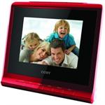 COBY DP356RED 3.5 Desktop Multifunction Digital Photo Frame with USB / SD Red