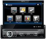 SPL 7 9.3 in dash single double din lcd dvd sd usb mp3 cd navigation receiver bluetooth 2.0 2.1 edr