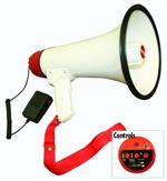 NIPPON SK33S Hand Held 30W Power Megaphone with Siren