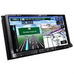 JVC KW-NT810HDT 2 DIN 7 LCD / DVD Navigation Receiver with Bluetooth and HD Radio