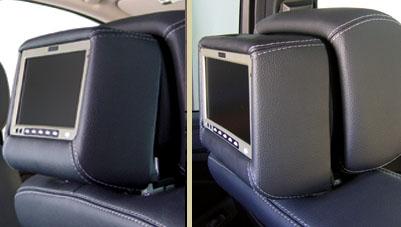 Vizualogic s Dual Headrest Monitor Package - Crutchfield